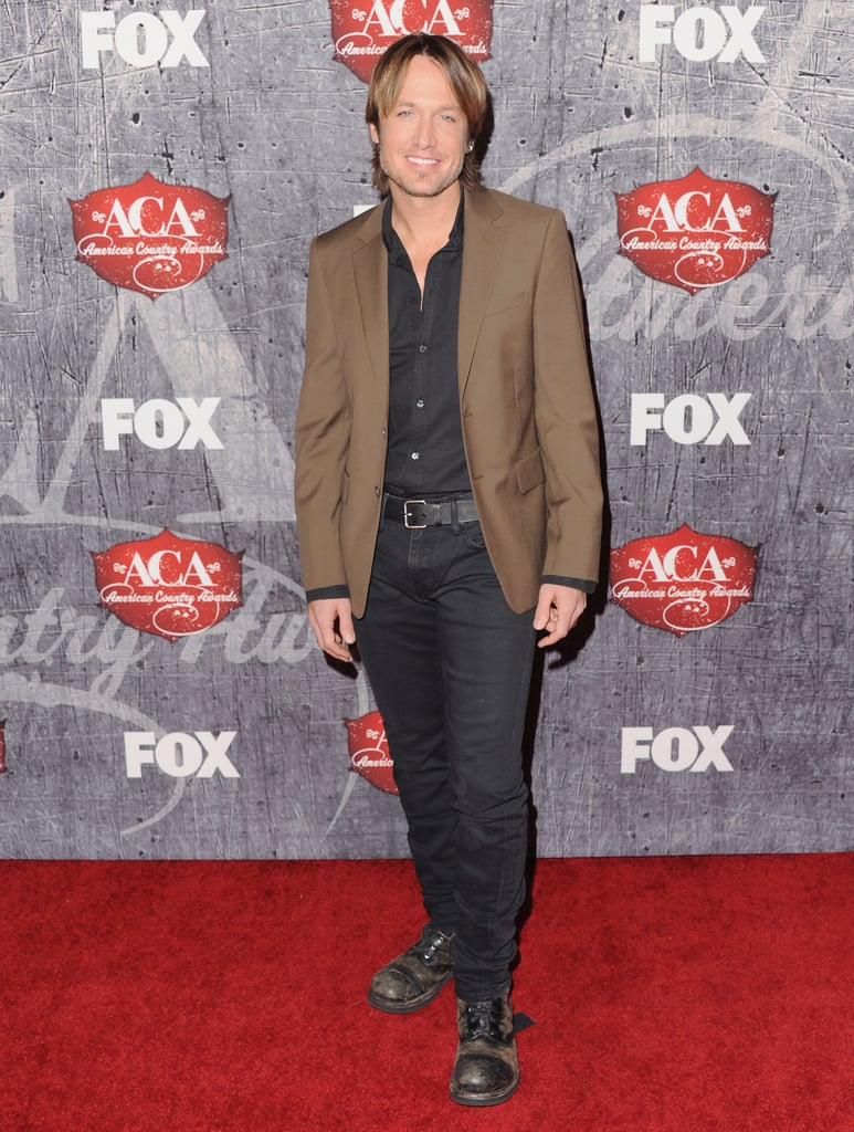 Keith Urban made an appearance at the American Country Awards.