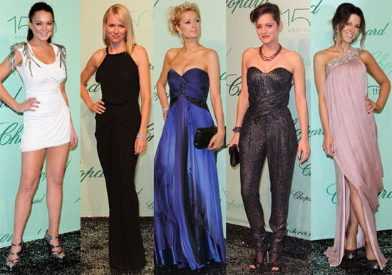 Pictures of Lindsay Lohan, Naomi Watts, Paris Hilton, Kate Beckinsale and Others at Cannes Chopard Party 2010-05-18 05:00:00