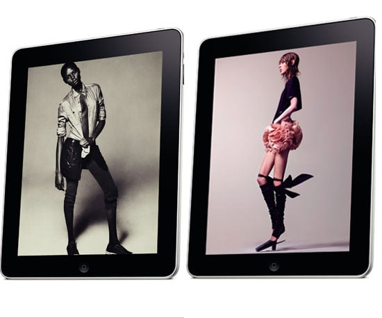 Photos From Interview Magazine's iPad Issue 2010-04-08 06:00:08