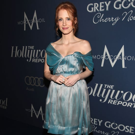 Jessica Chastain Pictures at THR Oscars Party