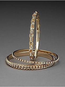 New York & Company: The NY&C Triple Chain Bangles