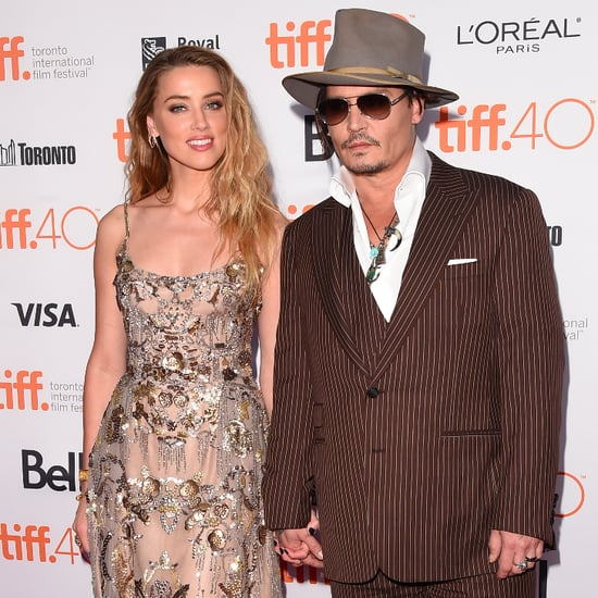 Johnny Depp and Amber Heard at TIFF 2015 | Pictures