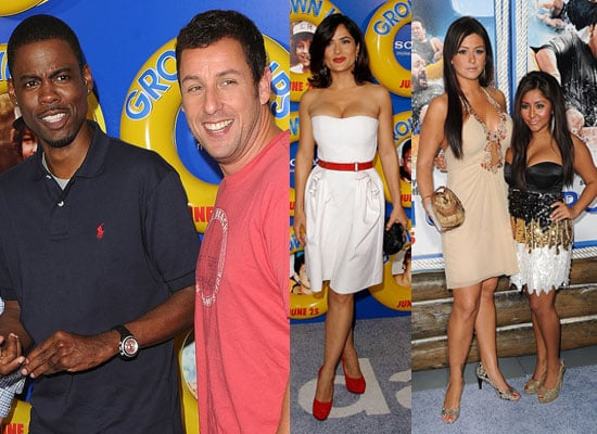 Pictures of Grown Ups Premiere in NYC Inc Salma Hayek, David Spade, Adam Sandler, Chris Rock, Snooki, JWoww, Kevin James