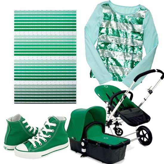 Emerald-Green Finds For Kids in Pantone's Color of 2013!