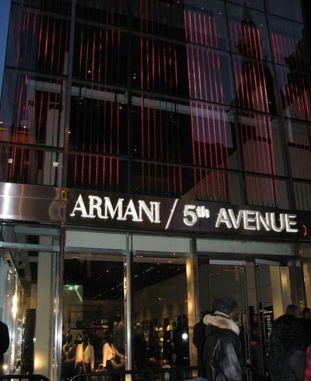 Armani/5th Avenue Store Opening