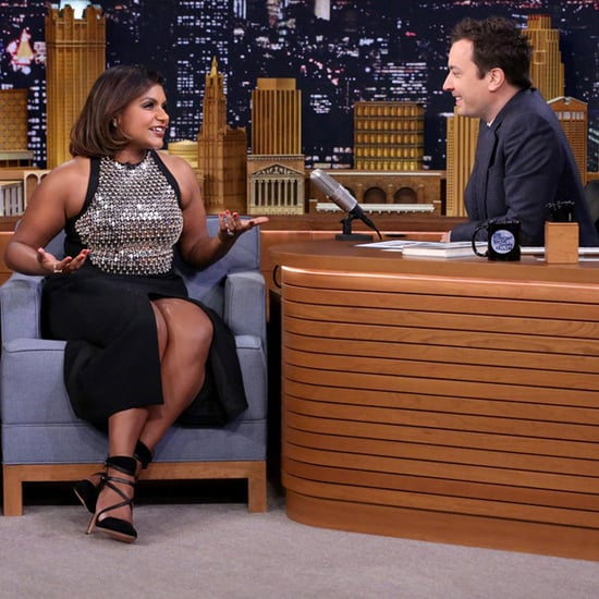 Mindy Kaling's Outfit on Jimmy Fallon 2015