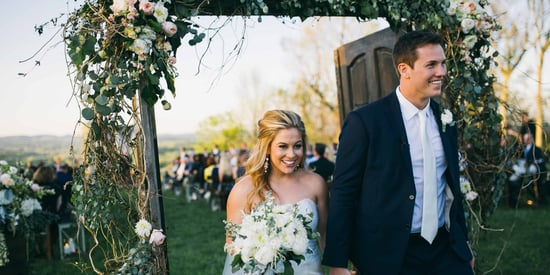 Olympian Shawn Johnson's Rustic-Chic Wedding Deserves A Gold Medal