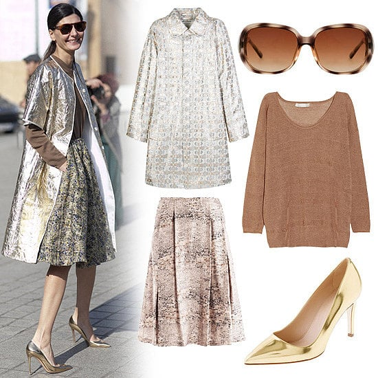 We love looking to our favorite street-style stars to inspire our next shining outfit.