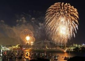 Record Sydney Crowd Gets New Year Party Started