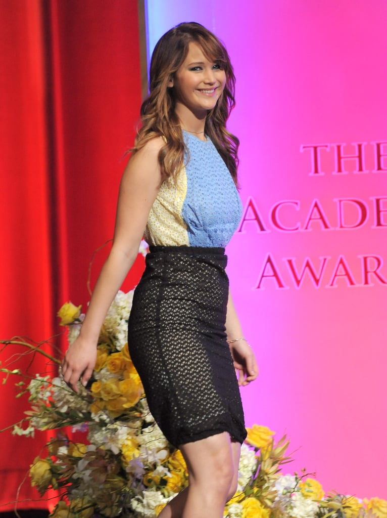 Jennifer Lawrence was the lucky lady chosen to announced the Oscar nominations in January.