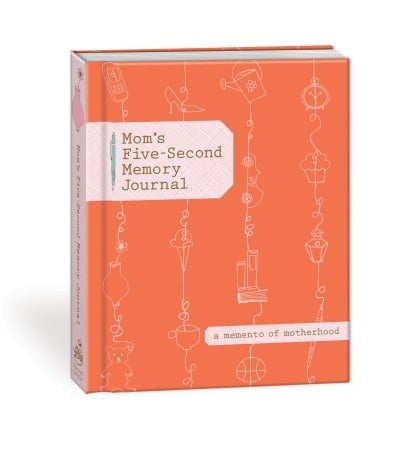 Mom's Five-Second Memory Journal ($10)