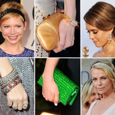 Golden Globes Jewelry and Accessories 2012