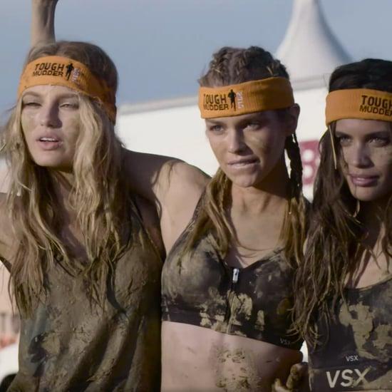 Victoria's Secret Models Complete Tough Mudder | Video