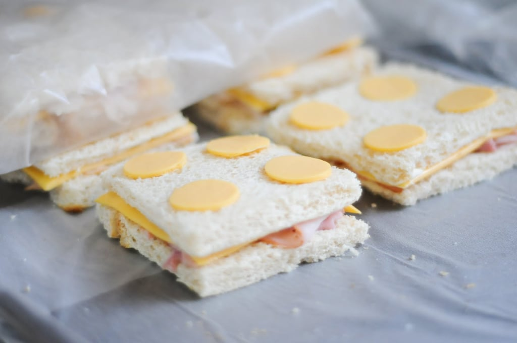 Lego Ham and Cheese Sandwiches