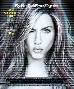 Jennifer Aniston For New York Times Magazine