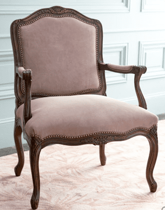 Love It or Hate It? Pink Suede Chair
