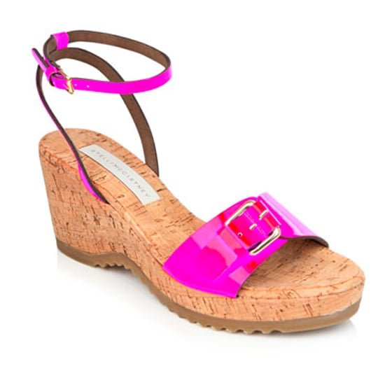Neon Ankle-Strap Shoe Trend For Spring