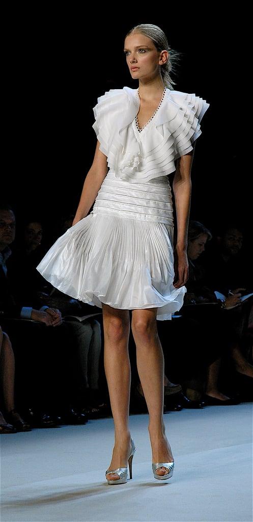Immaterial: Zac Posen Strapless Bubble Dress