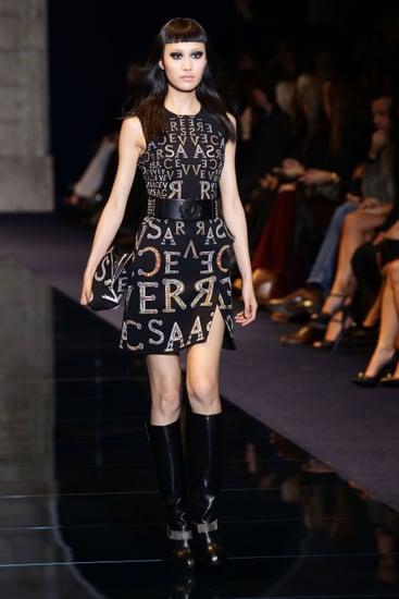 Versace Fall 2012 Runway