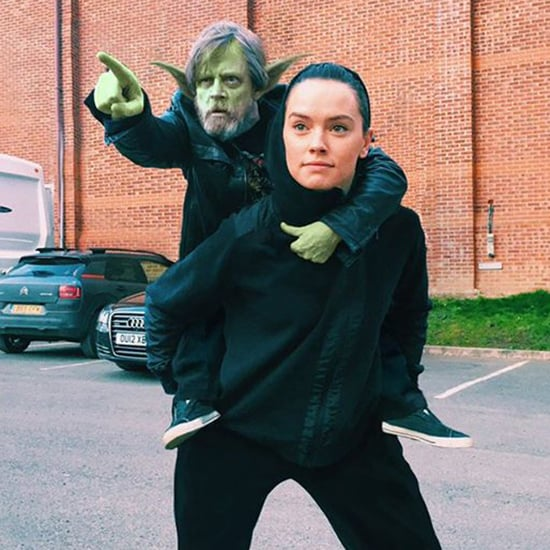 Photoshopped Mark Hamill With Daisy Ridley