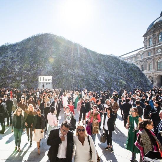 Dior Spring 2016 Show at Paris Fashion Week