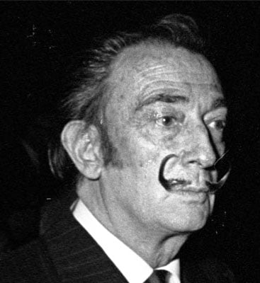Salvador Dali Has the Most Famous Mustache