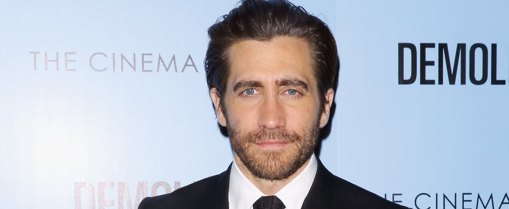 Jake Gyllenhaal Hits the Red Carpet With His Sexy Scruff and Piercing Baby Blues