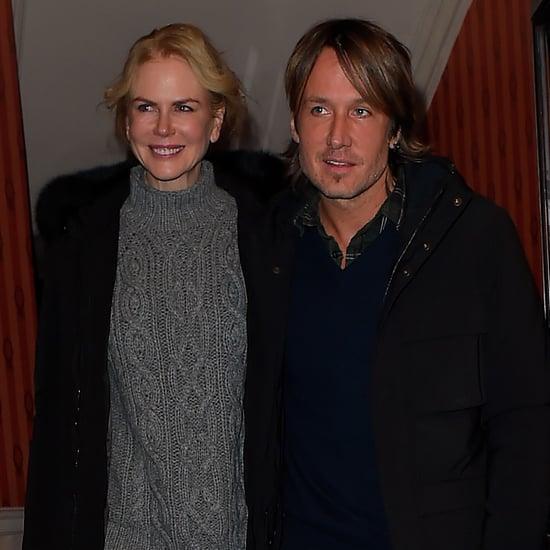 Nicole Kidman and Keith Urban Leaving Theater in London