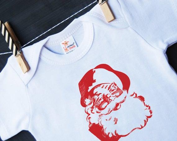 Hen & Co. Santa onesie ($22)