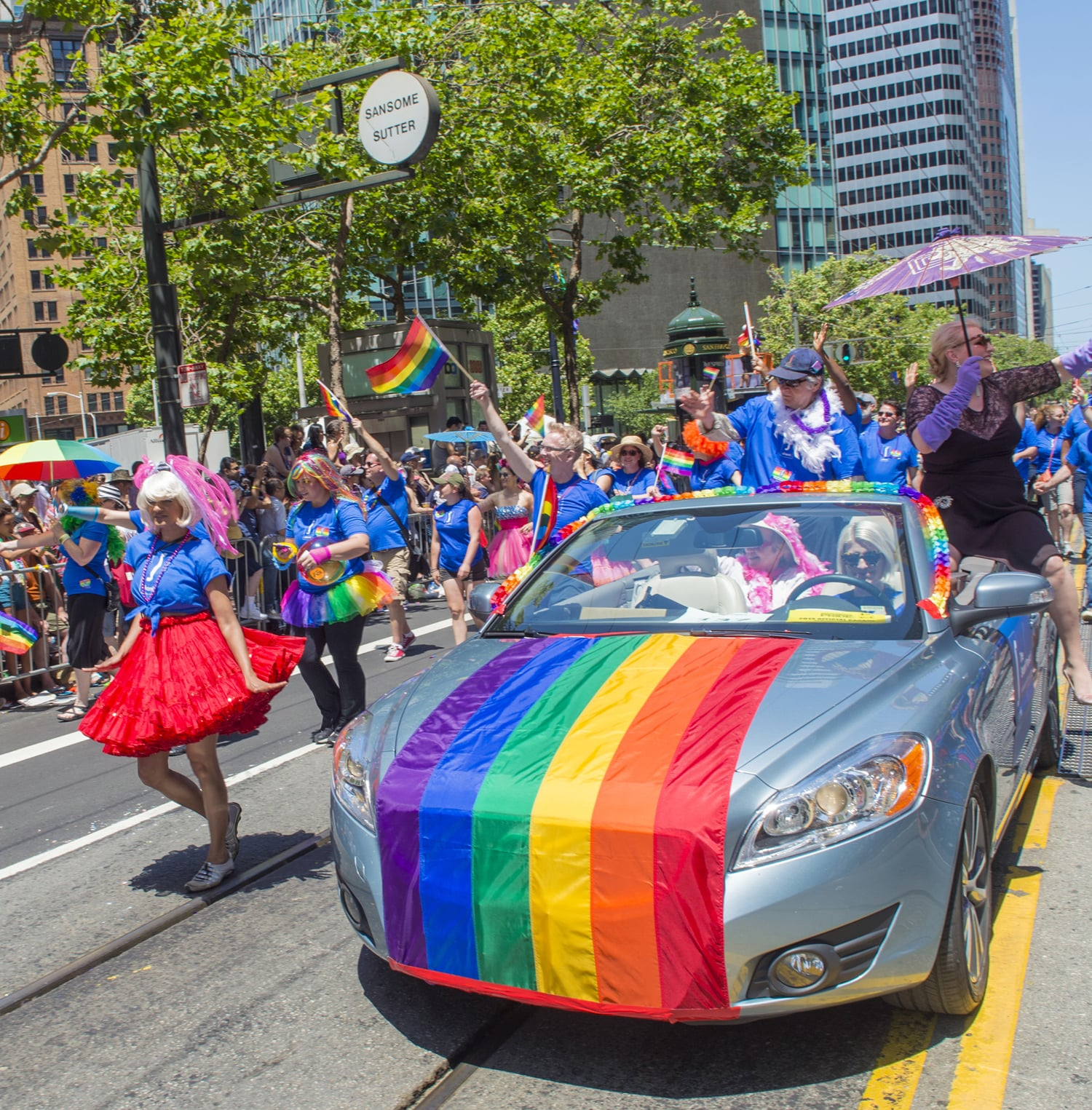 Attend the Gay Pride Parade in San Francisco