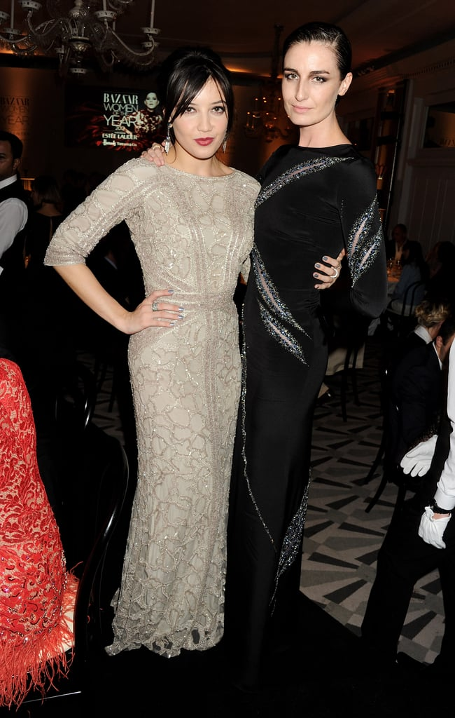 Daisy Lowe and Erin O'Connor