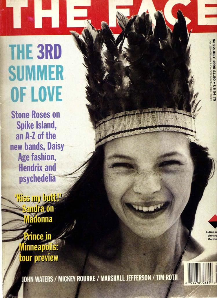 July 1990: Kate Moss
