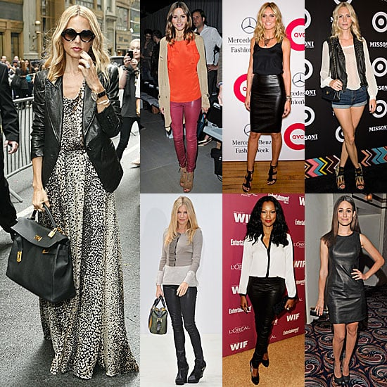 How to Wear Leather For Fall 2011