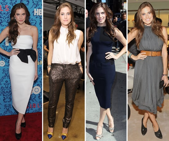 HBO Girls' Allison Williams — Get to Know Her Chic-and-Sleek Style