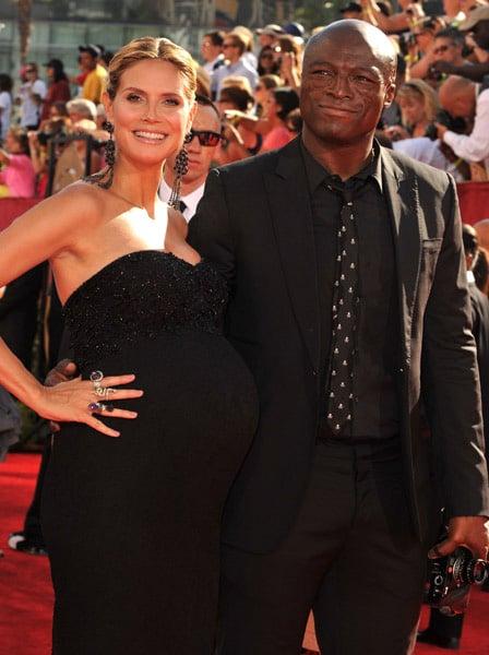 Heidi Klum at Emmy Awards