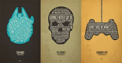 Geeky Movie Posters
