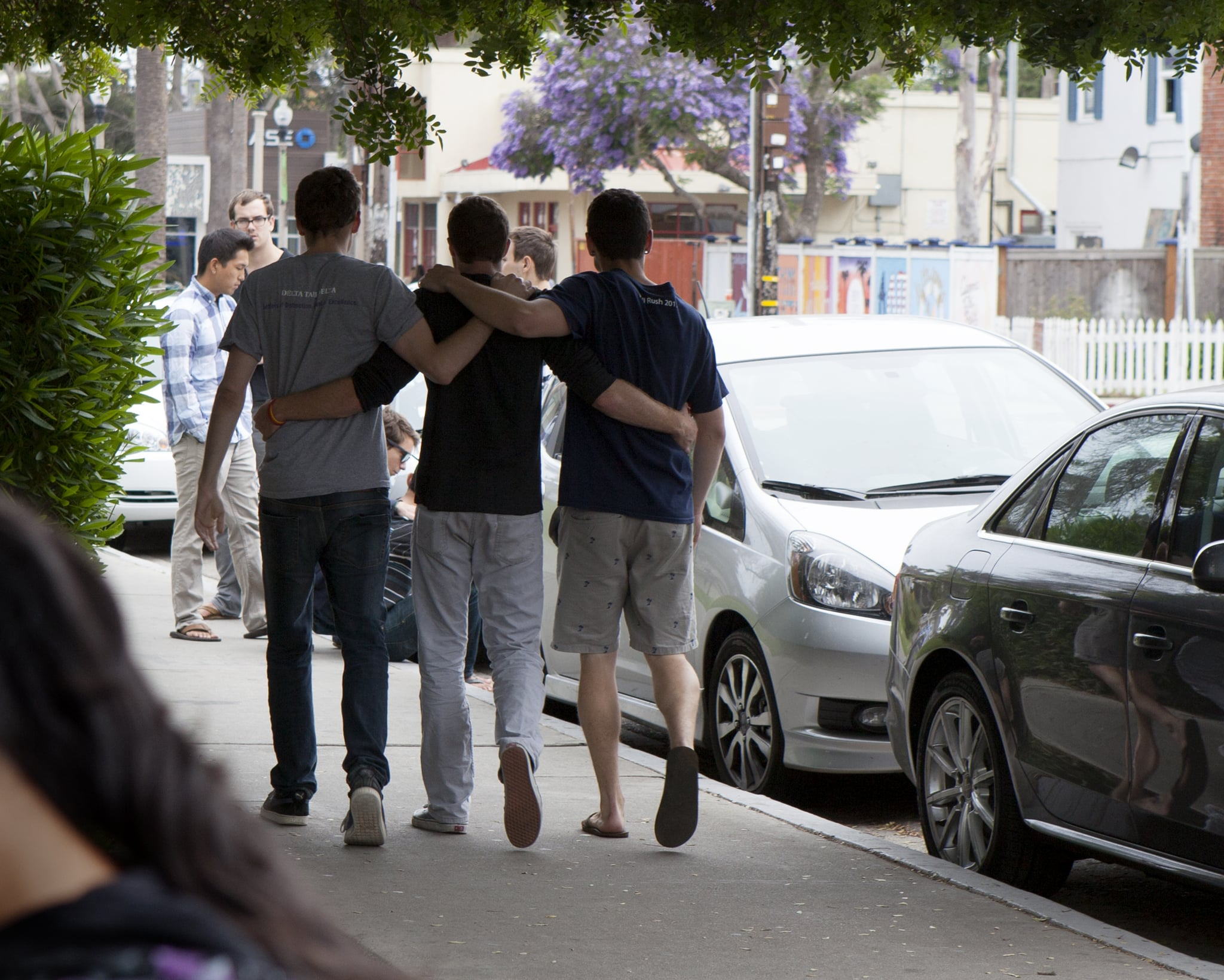 Students and Loved Ones Pay Tribute to Santa Barbara Shooting Victims