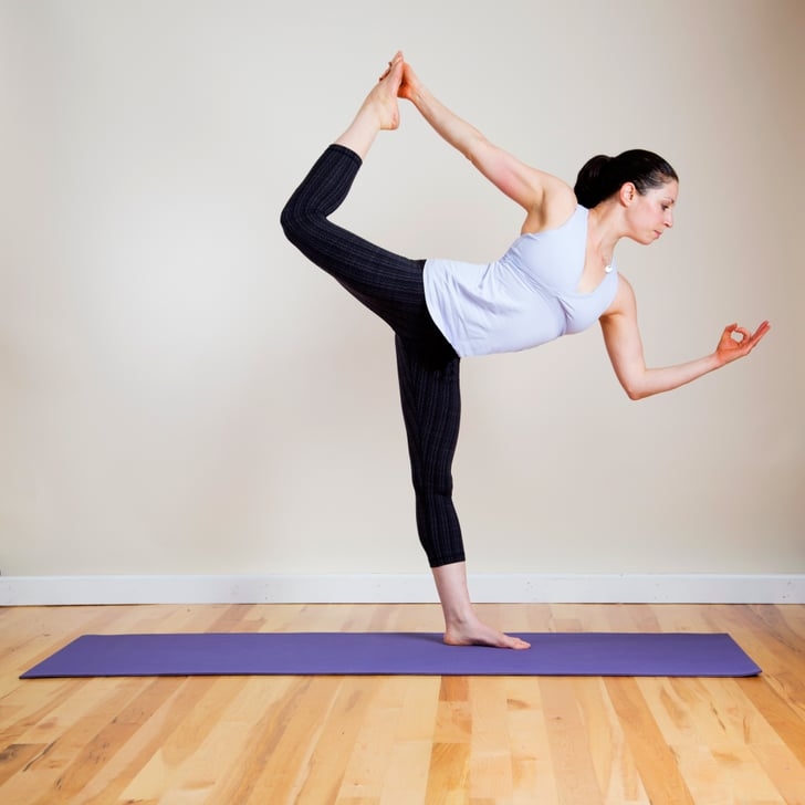 Yoga Exercise For Strong Toned Legs Popsugar Fitness