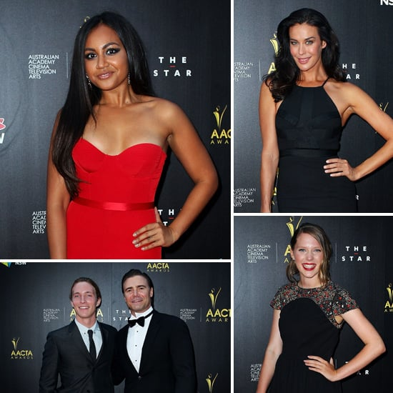 Celebrity Scoop From the 2013 AACTA Awards Red Carpet