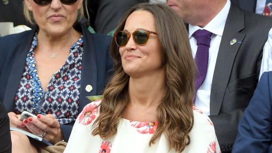 Pippa Middleton Flashes Lots of Leg at Wimbledon -- See the Pics