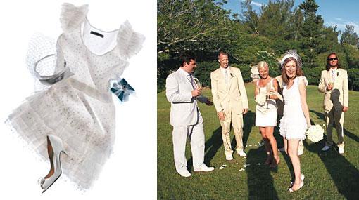 Would You Wear a Short Wedding Dress?