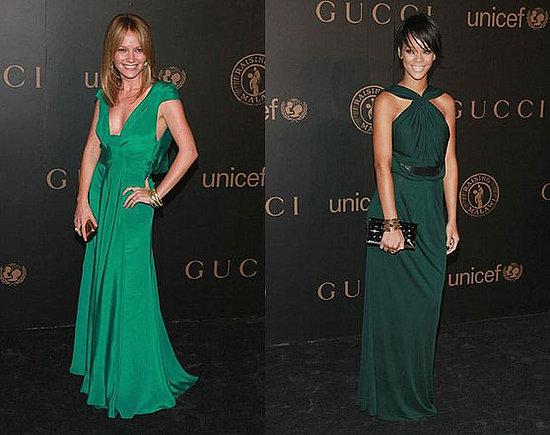 Battle of the Gucci: Newton vs. Rihanna