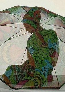 Simply Fab: Umbrella Draining Solution
