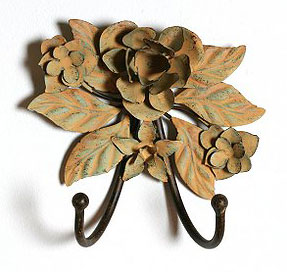 Simply Fab: Metal Flower Double Hook