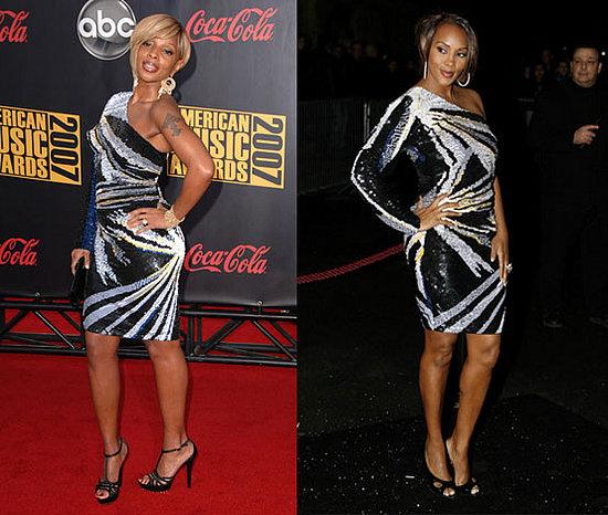 Who Wore It Better? Emanuel Ungaro One Shoulder Sequin Dress