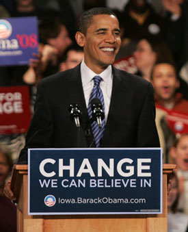 Sugar Bits — Obama and Huckabee Win in Iowa