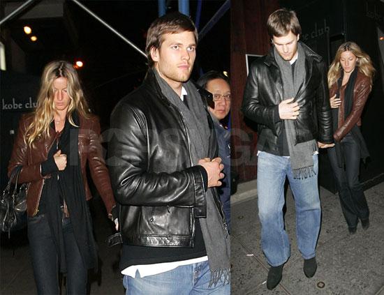 Tom Brady and Gisele Bundchen in New York