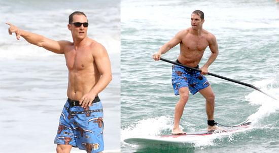 Matthew McConaughey's Surfing Safari Is Never Over