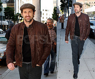 Patrick Dempsey Is a Newsboy