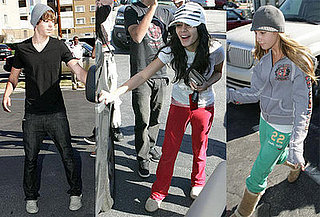 Zac Efron, Vanessa Hudgens and Ashley Tisdale Get Lunch Together